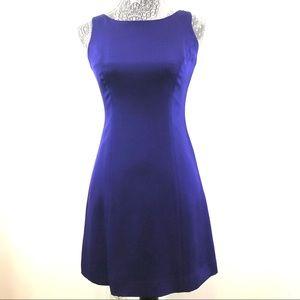 Hugo Buscati Collection Silk Purple Dress Sz 2